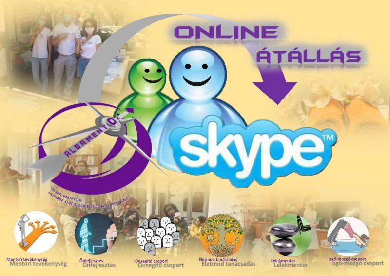 Tájékoztatás Online átállásról